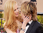 Keith Urban and Nicole Kidman Couldn't Keep Their Hands Off Each Other During the SAG Awards