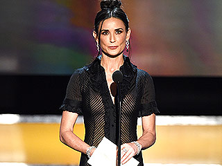 Demi Moore Shops Her Own Closet for Surprise SAG Awards Appearance: All the Details on Her Vintage Look!