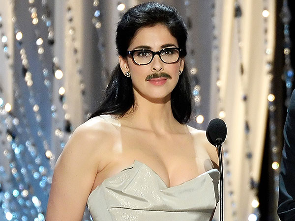 Sarah Silverman Mustache Facial Hair