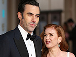 Sacha Baron Cohen Says Borat Is Probably Wife Isla Fisher's Least-Favorite Character: 'She's Had to Make Love to All of Them'