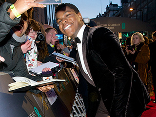John Boyega Celebrates at BAFTAs Before Jumping Back into Star Wars: Episode VIII: 'I've Got a 6 a.m. Pickup Tomorrow!'