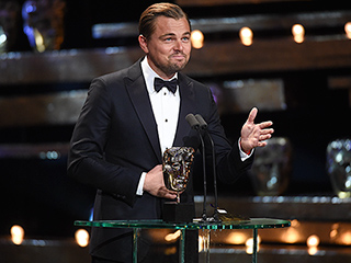 'Mom, Happy Birthday!' Leonardo DiCaprio Picks Up Best Actor BAFTA for The Revenant