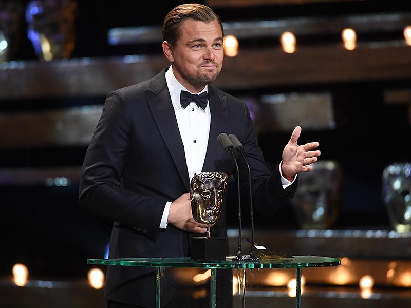 BAFTAs 2016: Leonardo DiCaprio Wins Best Actor for The Revenant