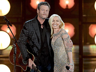 Blake Shelton and Gwen Stefani Deliver Romantic Performance of 'Go Ahead and Break My Heart' at Billboard Music Awards
