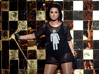 Demi Lovato Stands Against North Carolina 'Bathroom Bill' in Special T-Shirt at the Billboard Music Awards