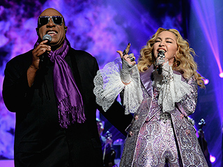 FROM EW: 'Deal with It!' Madonna Says 'Anyone Who Wants to Do a Tribute to Prince Is Welcome to'