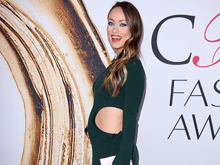 Olivia Wilde Bares Her Baby Bump in Second-Skin, Cutout Dress at CFDA Awards: 'The Tighter, the Better'
