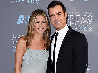 Love Wins! Jennifer Aniston Supports Husband Justin Theroux at the Critics' Choice Awards