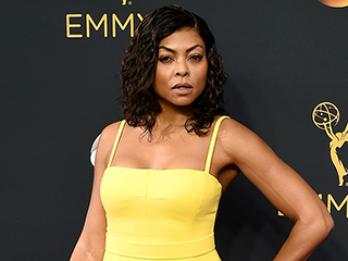 Getting Glam with Taraji P. Henson: See the Star's Behind-the-Scenes Emmy Awards Prep Process!