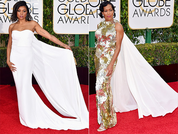 Golden Globes capes