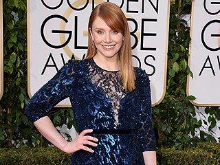 Why Size 6 Bryce Dallas Howard Had to Buy Her Own Golden Globes Dress: 'I Like Having Lots of Options'