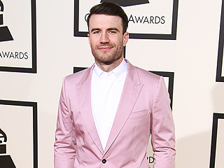 Think Pink! Grammys Guys in Funky Suits