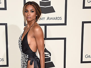 Ciara Shows Side Boob and Side Butt Cheek at the Grammys: See Her Naked Gown Now!