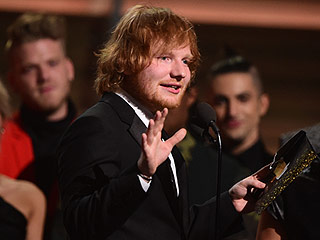 Ed Sheeran Thanks His Parents in Emotional Grammy Win, 'Every Single Time I Lose They Go 'Maybe Next Year' '