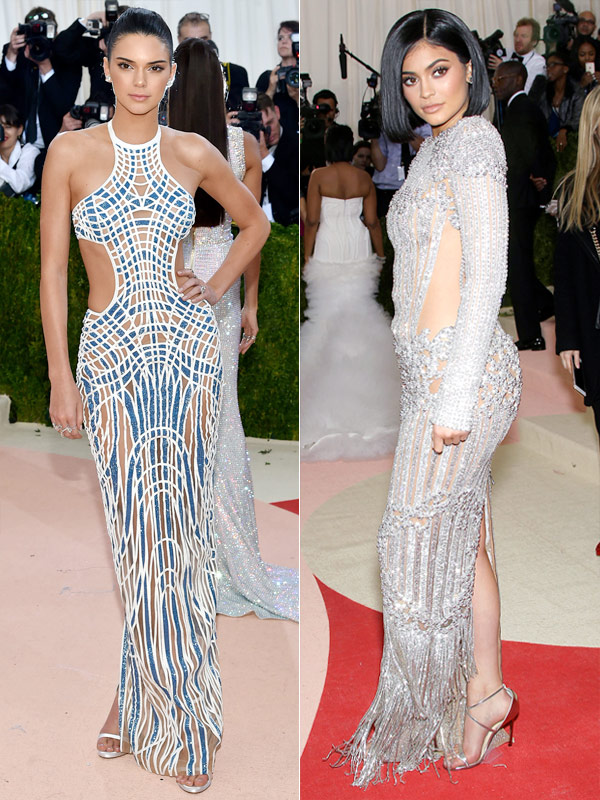 Met Gala 2016 Kendall and Kylie Jenner