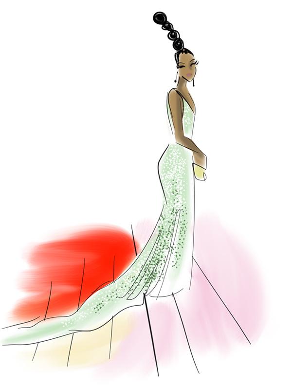 Lupita Nyong'o Met Gala 2016