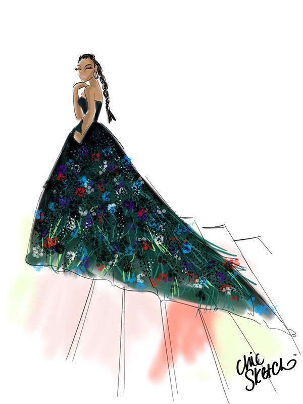 Zoe Saldana Met Gala 2016