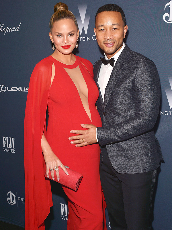 Chrissy Teigen John Legend Weinstein Party