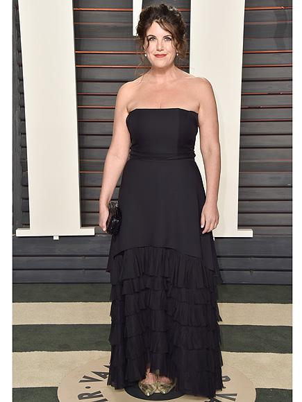 Monica Lewinsky Steps Out at Vanity Fair's Star-Studded Oscar Party| Academy Awards, Oscars 2016, Monica Lewinsky