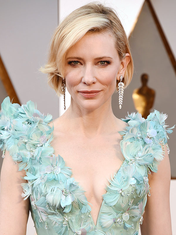 Oscars 2016 Cate Blanchett Reveals A New Haircut On The