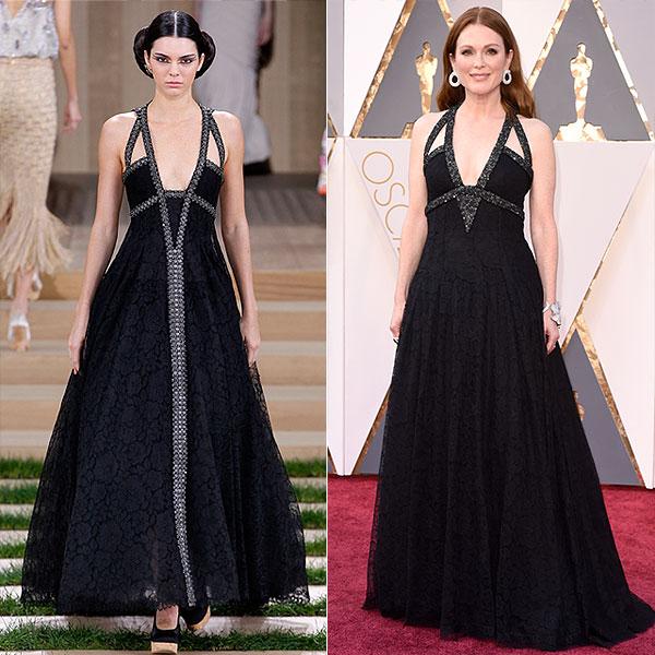 Julianne Moore Chanel Dress Oscars