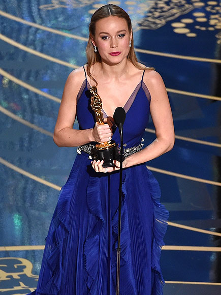 Brie Larson Wins 2016 Oscar for Best Actress for Room| Academy Awards, Oscars 2016
