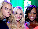 Cara, Margot and Viola, Plus Brad Pitt, Tom Hiddleston & More!