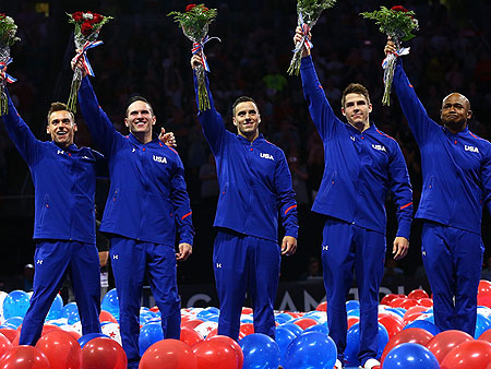 Behind the Scenes: Training with the U.S. Men's Gymnastics Team