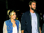 Smiley Miley! Miley Cyrus and Liam Hemsworth Hold Hands on Dinner Date in N.Y.C.