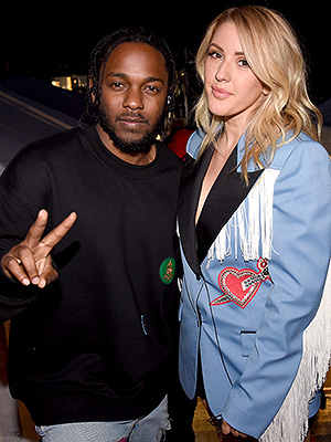 Kendrick Lamar and Ellie Goulding, Plus Rihanna, Miley Cyrus & More