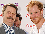 Prince Harry and Nick Offerman, Plus Jennifer Lopez, Justin Bieber, Rihanna & More!