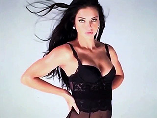 Adriana Lima Serves Up Serious Sexiness in Love Magazine Advent Calendar
