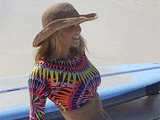 Bikini Envy! Christie Brinkley Shows Off Her Toned Beach Body Amid Turks and Caicos Holiday