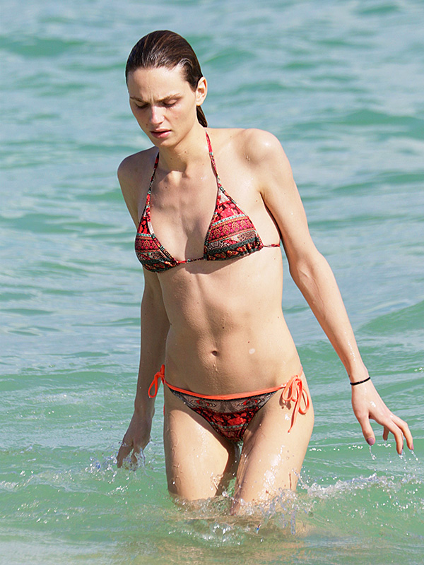 Andreja Pejic Miami Bikini