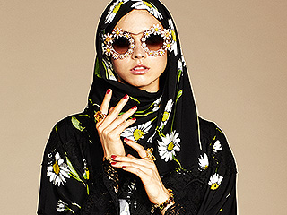 Dolce & Gabbana Launches a Line of High-Fashion Hijabs and Abayas