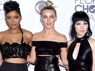 No Pink Ladies Here! Julianne Hough and Grease: Live Costars Vamp it Up
