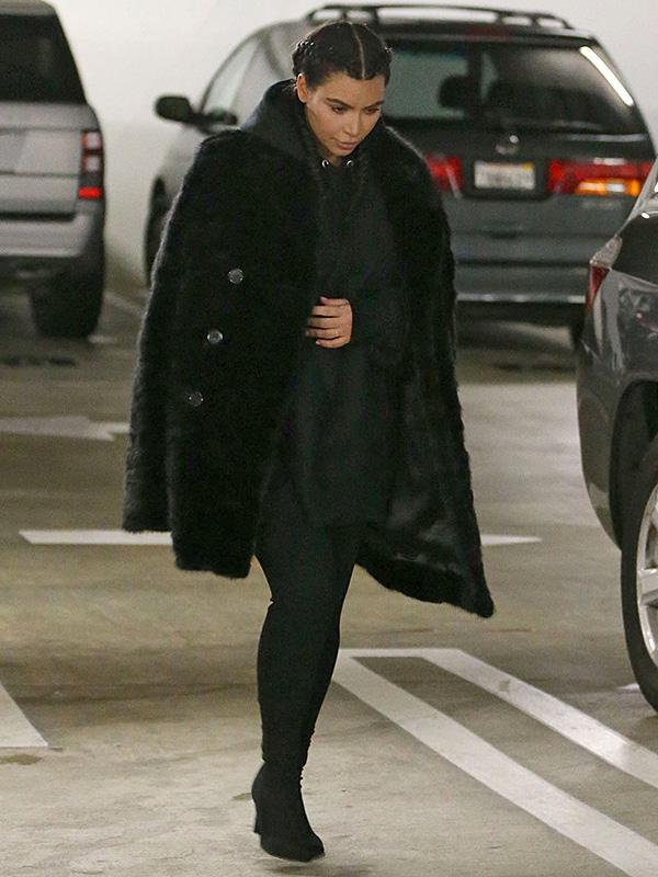 Kim Kardashian post-baby style