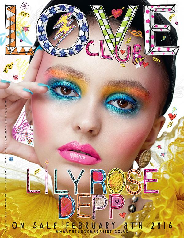 Lily Rose Depp Love Magazine Cover