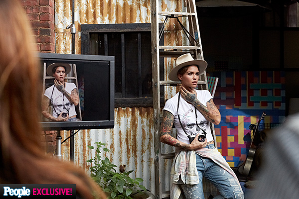 Ruby Rose Denim & Supply campaign ad