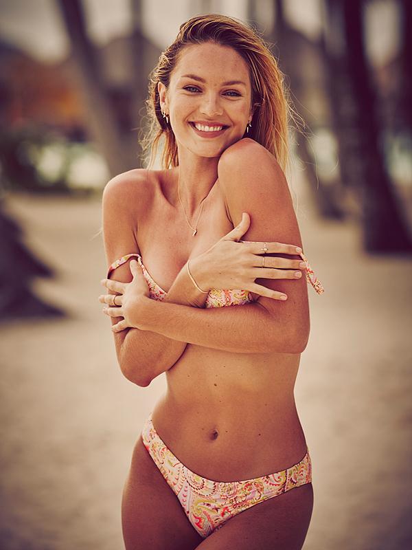 Elsa Hosk VS Swim Catalog