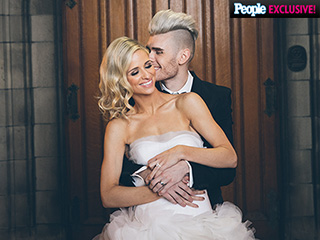 All the Details on Colton Dixon and Annie Coggeshall's Gilded Wedding Cake and Fairy Tale Touches (PHOTOS)