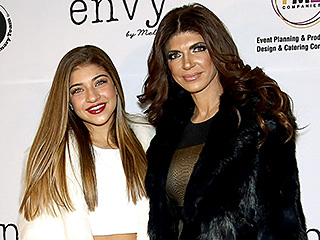 All the Details on Teresa Giudice's High-Fashion Red Carpet Outfit at Her First Post-Prison Event