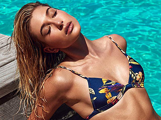 Hailey Baldwin Shows Off Bikini Body in Sultry Photo Shoot for Swimwear Collection