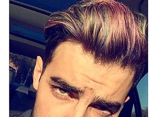 Bye Bye, Blue! Joe Jonas Now Has Mermaid Hair
