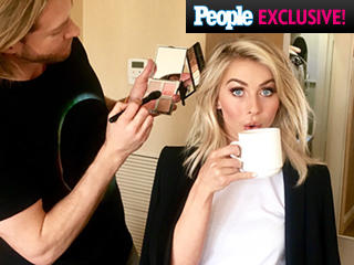 Julianne Hough's Grease: Live Press Day Makeup Look Is the One That We Want