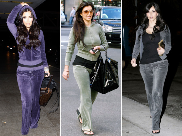 Kim Kardashian Juicy Couture Tracksuit Vogue