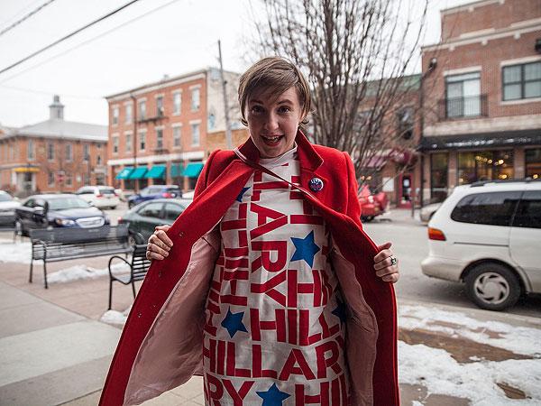 Lena Dunham Hillary Clinton Campaign
