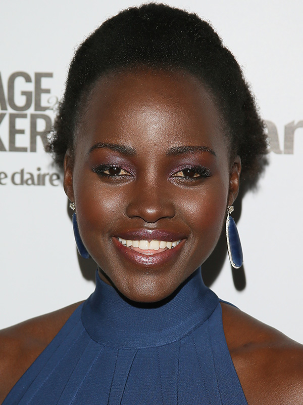 Lupita Nyong'o makeup how to
