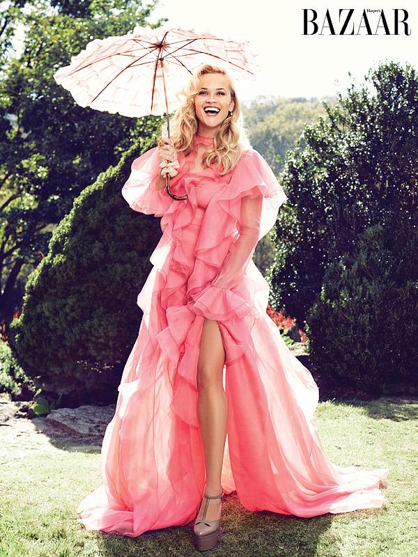 Reese Witherspoon Harper's Bazaar