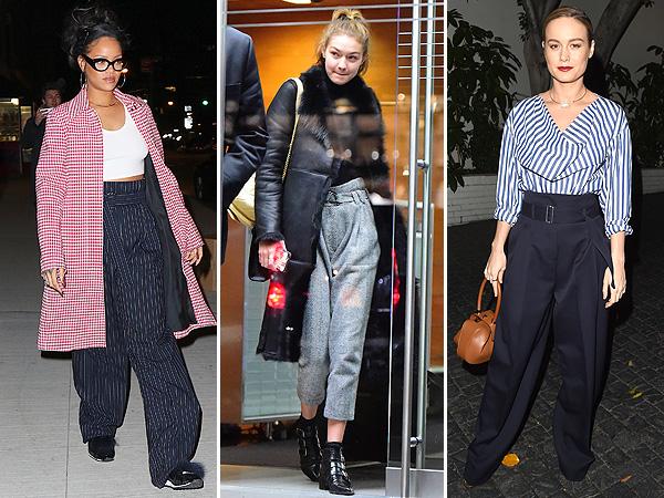 Rihanna, Gigi Hadid, Brie Larson
